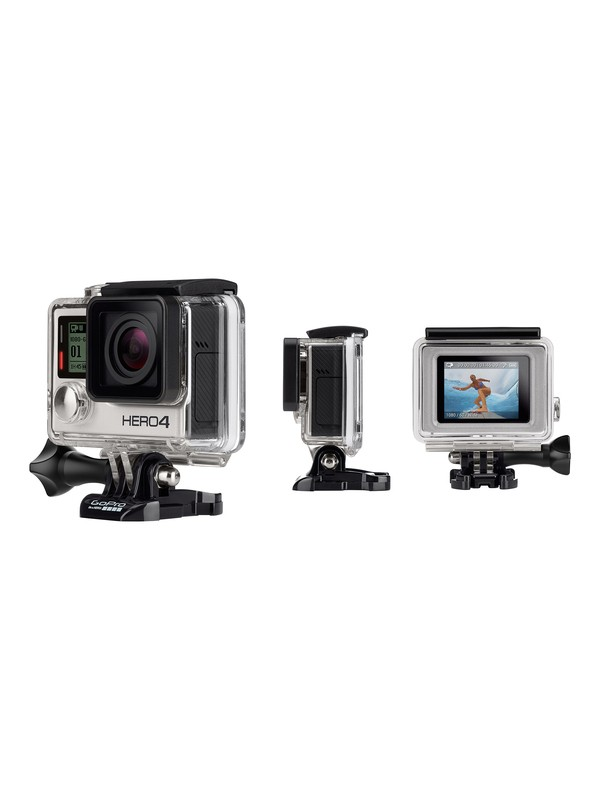 gopro hero 4 silver adventure gprcash4 quiksilver. Black Bedroom Furniture Sets. Home Design Ideas