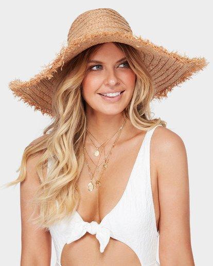 Billabong The Byron Straw Hat Womens