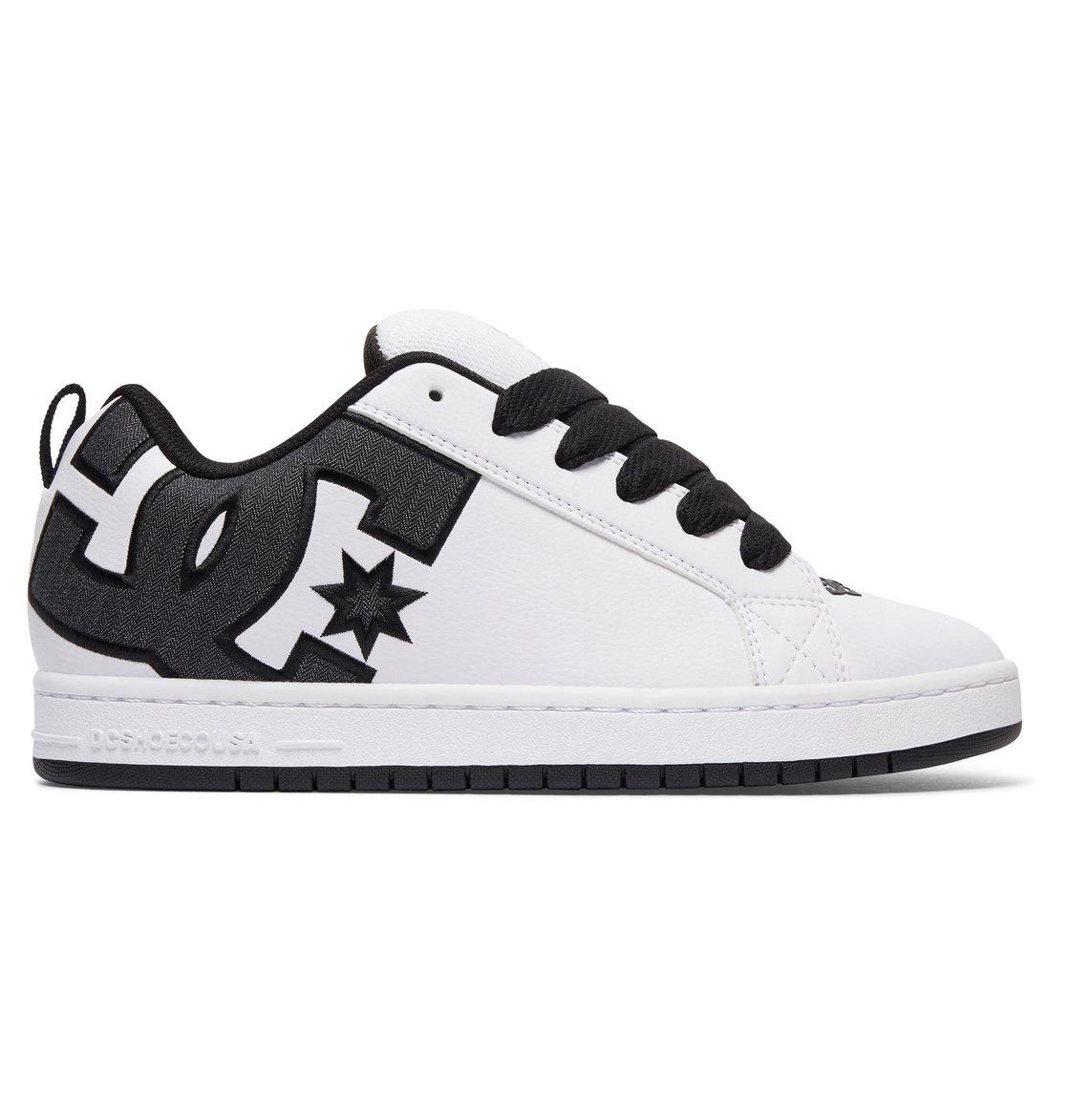 dc scarpe Court Graffik SE - Scarpe da Uomo - White - DC scarpe Precio Barato De Alta Calidad 4KyVeJA