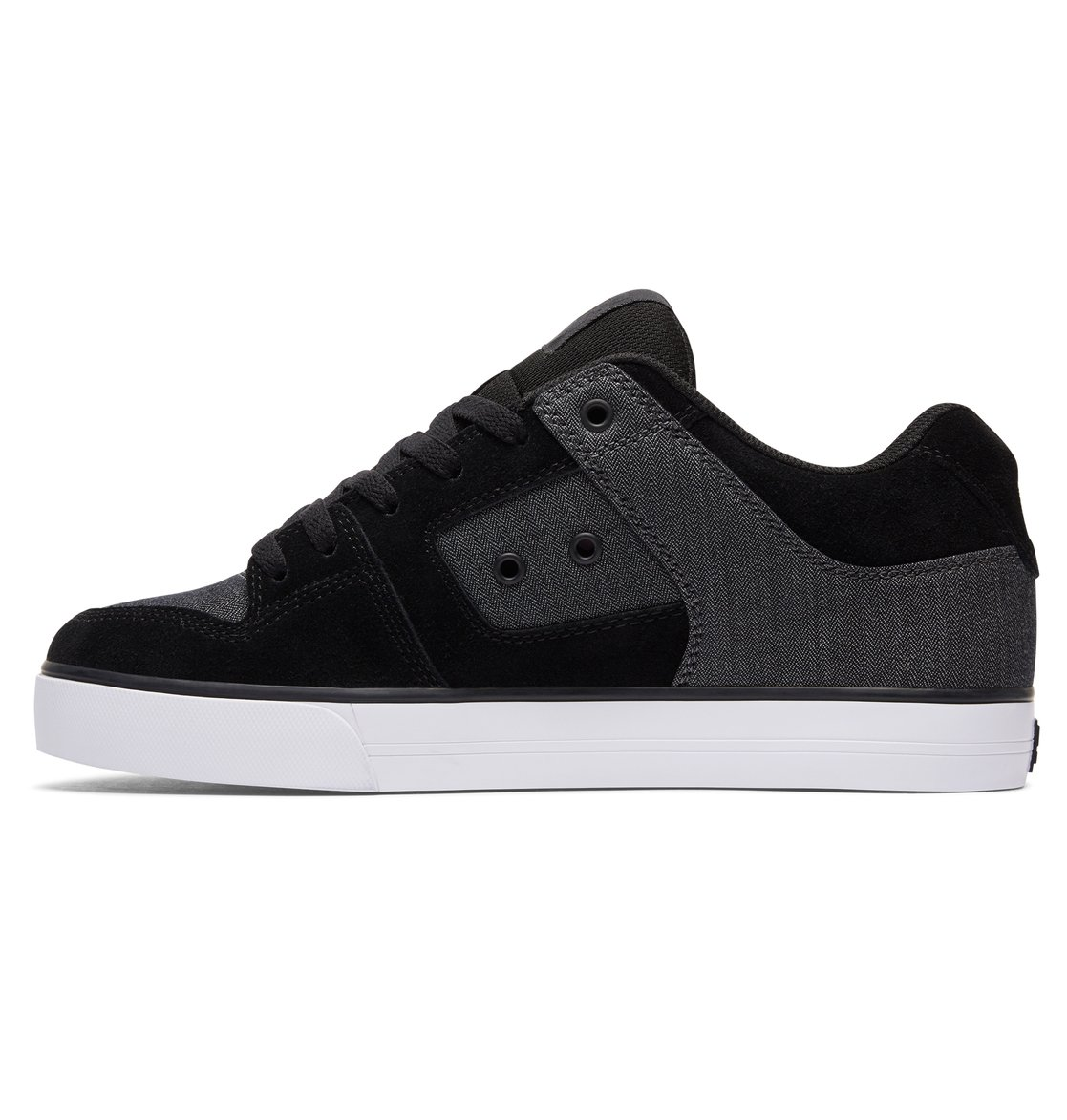 DC Shoes Men's Pure SE Low Top Shoes Black 8.5 RFruB