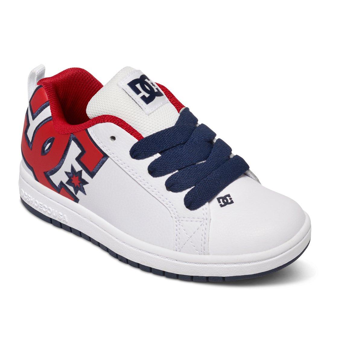 Dc Shoes Court Graffik Red