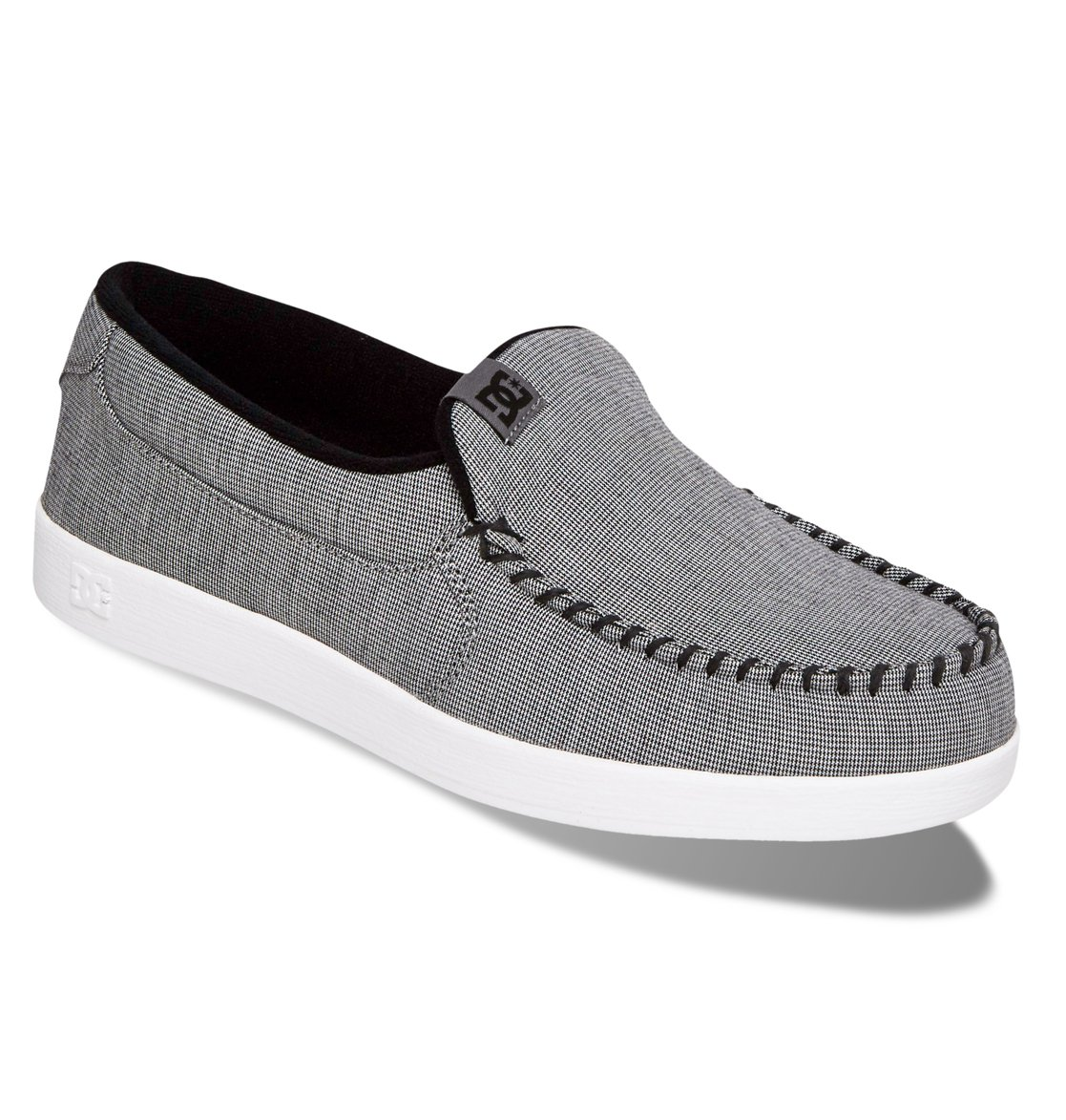 dcshoes s villain tx slip on shoes grey gry