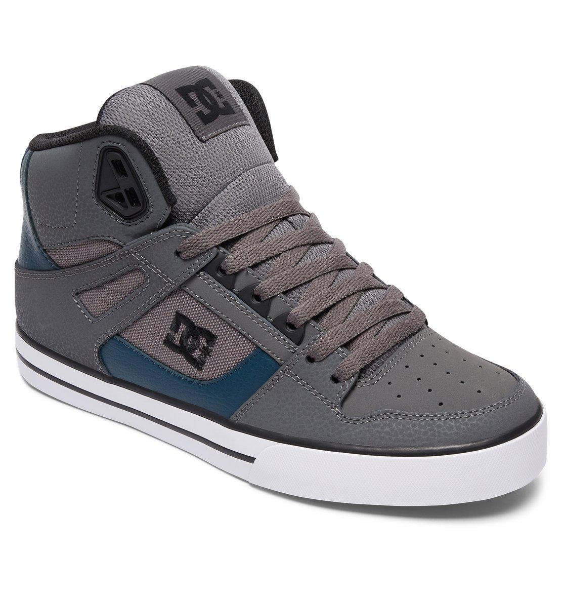 DC Shoes Men's Spartan High WC Hi Top Shoes Black Black (XKKK) 9.5 NmG19zG