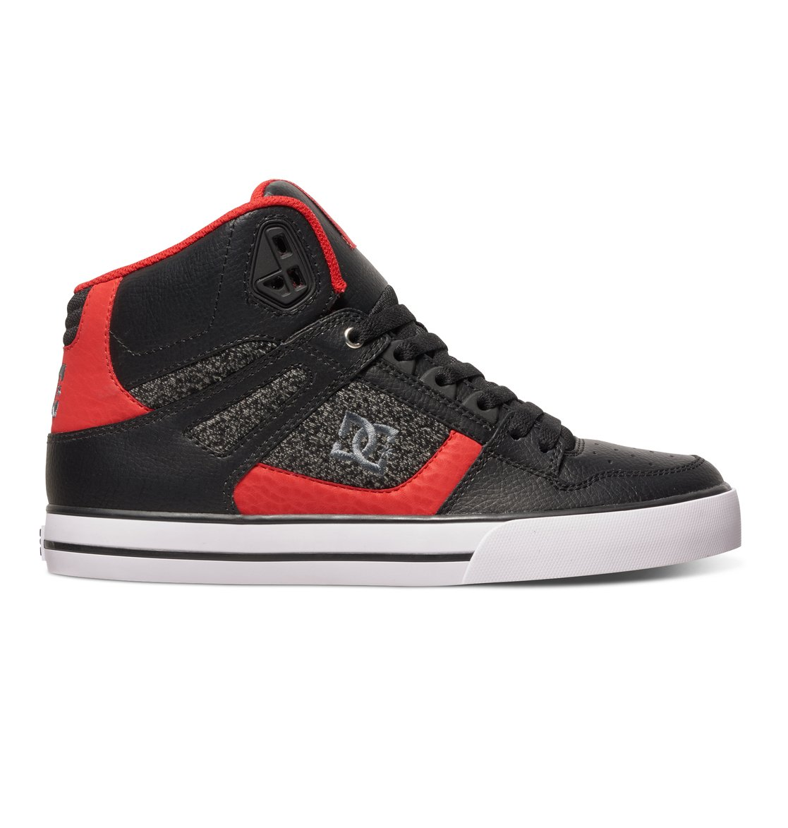 Dc Shoes Black Grey Spartan High Wc Tx Se