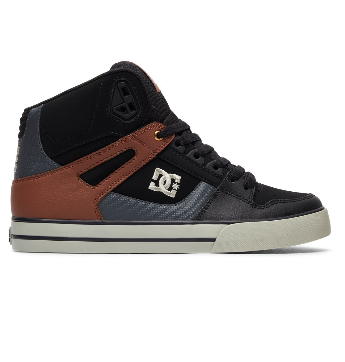 Red Dc High Top Shoes