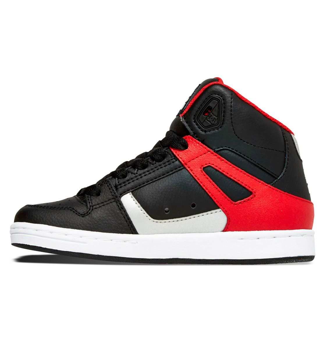 dc shoes high tops red and black. dc-shoes-kid-039-s-8-16-rebound- dc shoes high tops red and black s