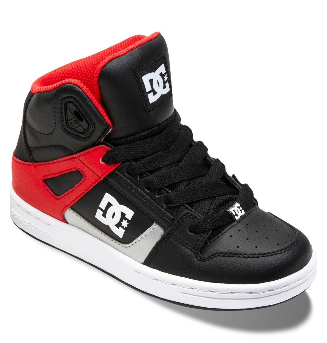 boy s 8 16 rebound high top shoes 302676b dc shoes