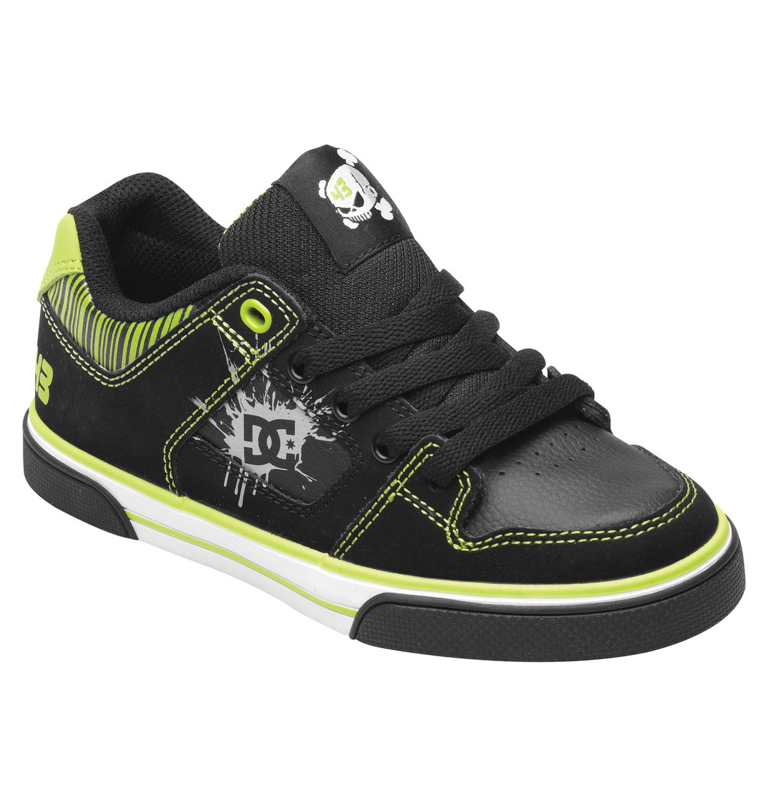 boys ken block pure shoes 303066b dc shoes. Black Bedroom Furniture Sets. Home Design Ideas