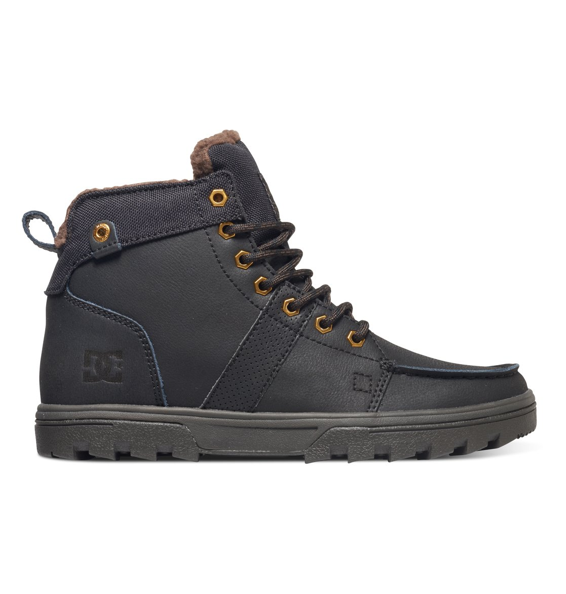 DC Woodland Boot - MEN - BROWN LEATHER 0