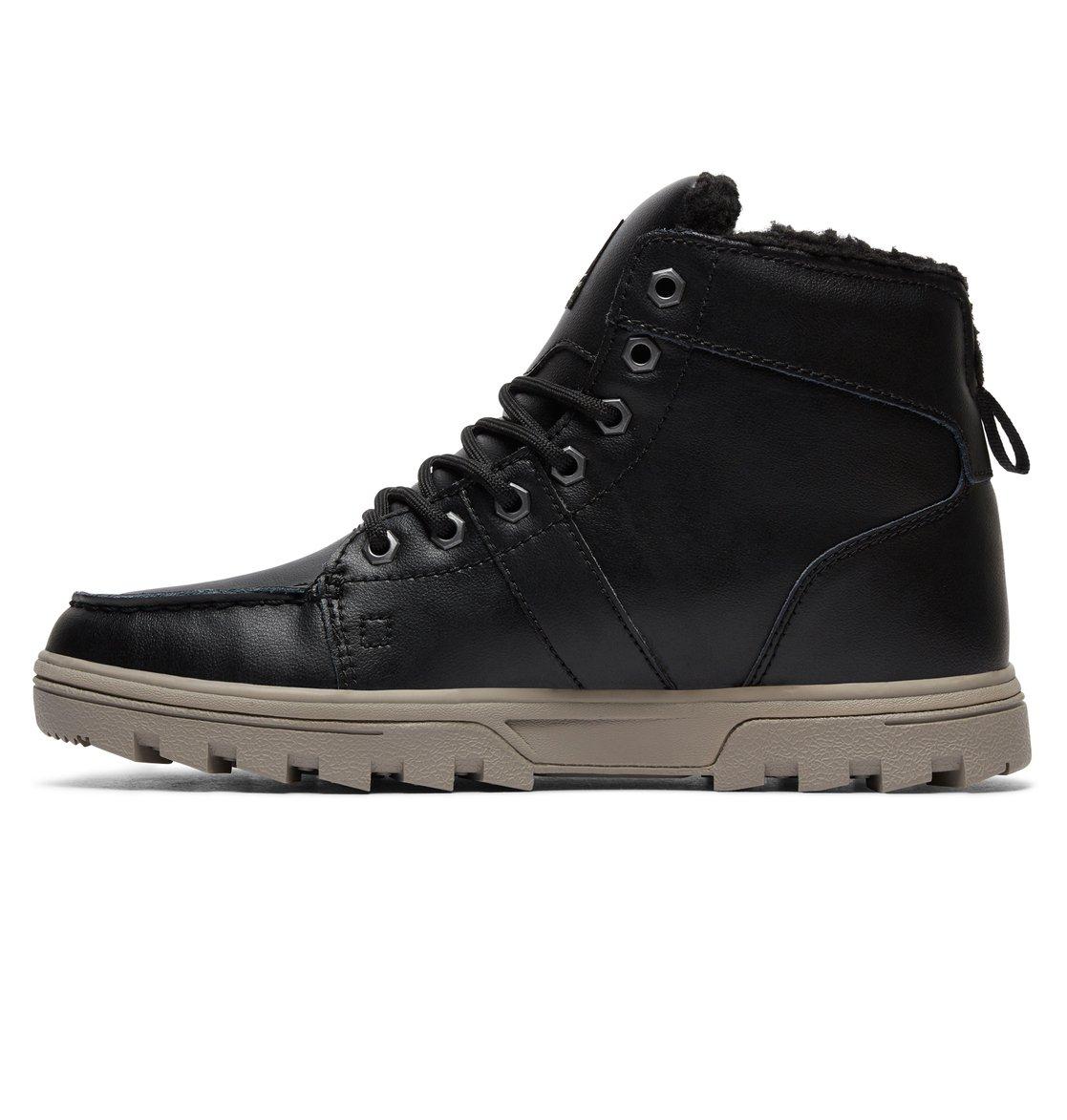 2 Men S Woodland Winter Boots Black 303241 Dc Shoes