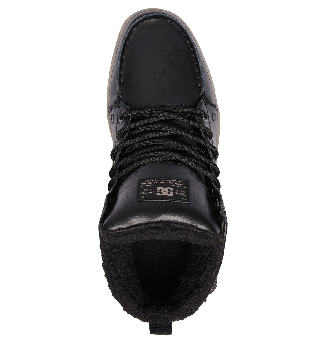 3 Men S Woodland Winter Boots Black 303241 Dc Shoes