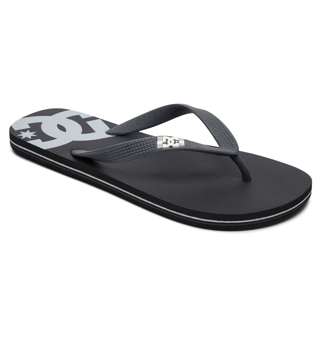DC Shoes Spray Chancletas negro-blanco Alta calidad yBRNvmaE