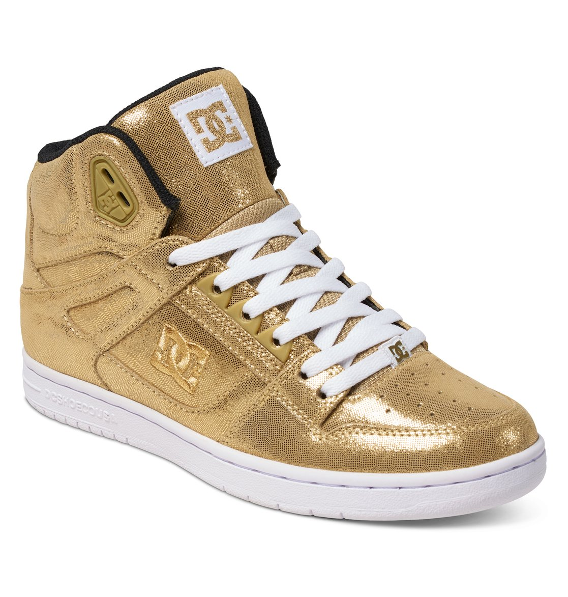 Dc Shoes Rebound Hi Se Black Gold