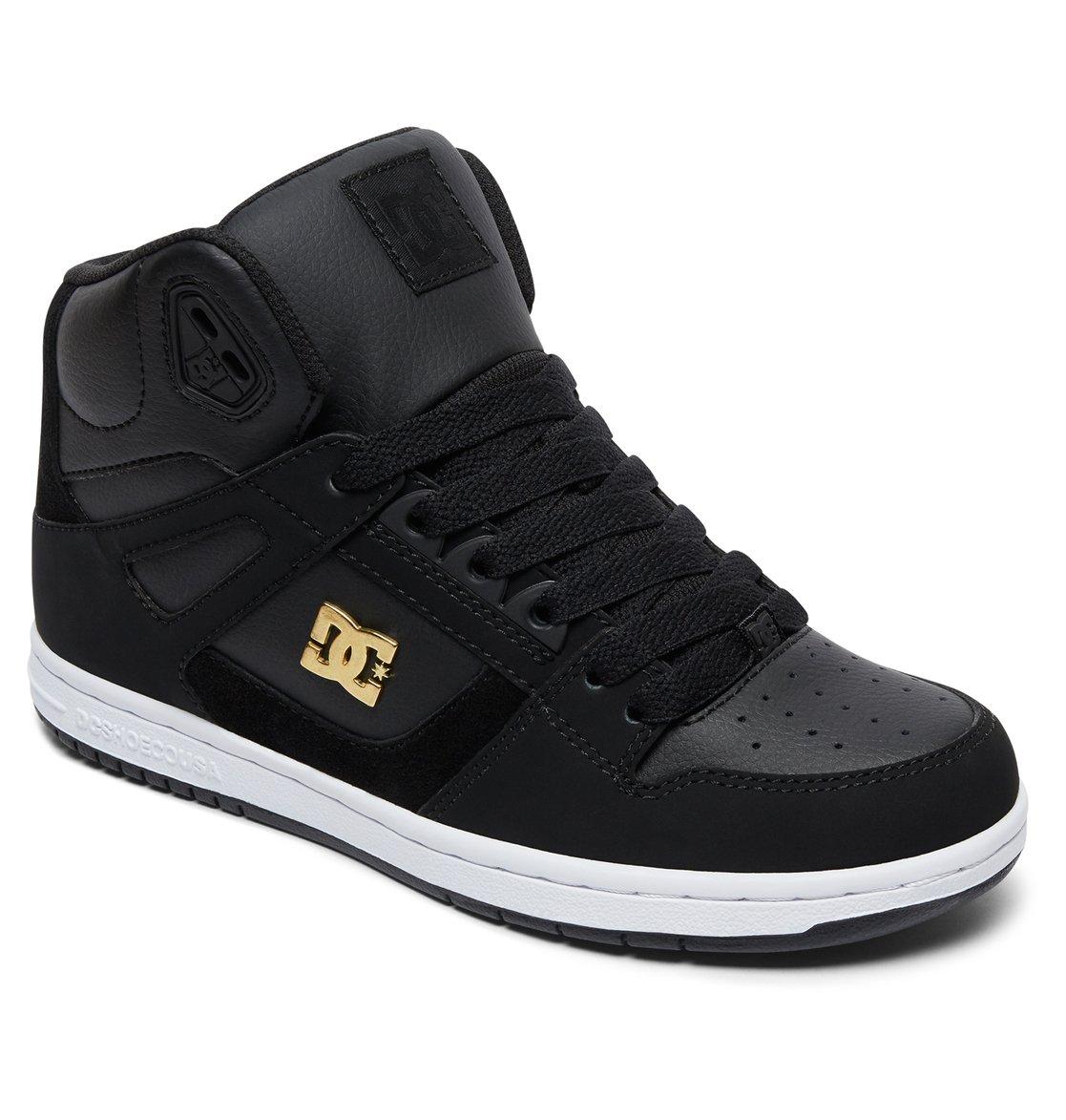 dc shoes high tops black. 1 women\u0027s rebound high se high-top shoes brown 320028 dc dc tops black