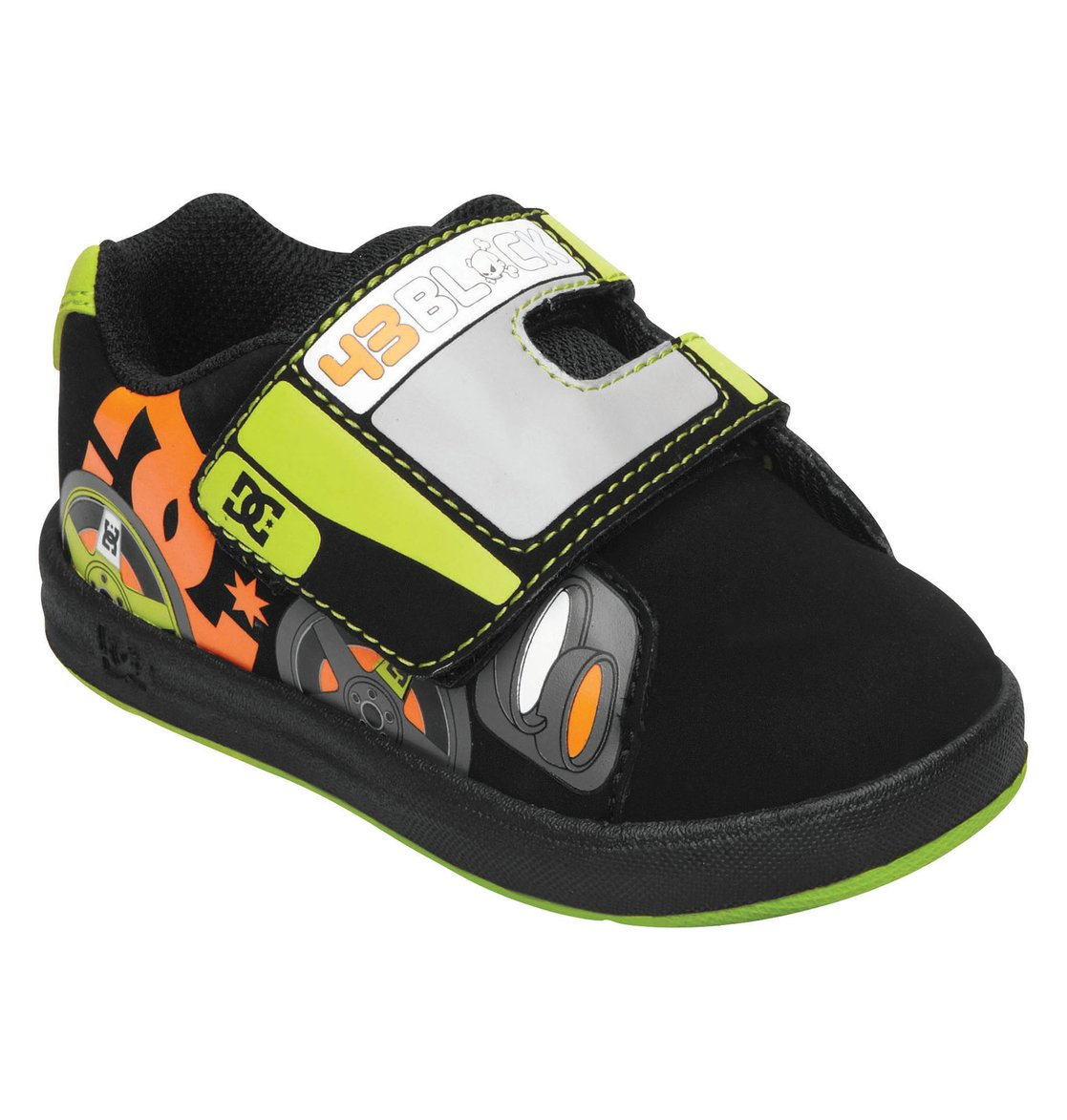 toddler 39 s ken block rally ul shoes 320179 dc shoes. Black Bedroom Furniture Sets. Home Design Ideas