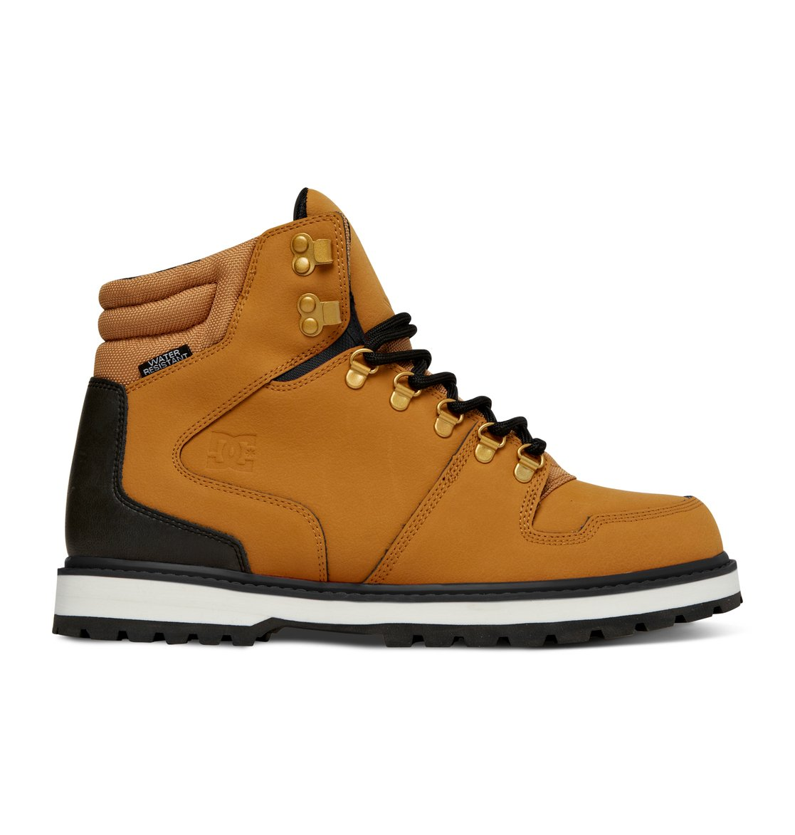 Men s peary boots yellow 320395 dc shoes