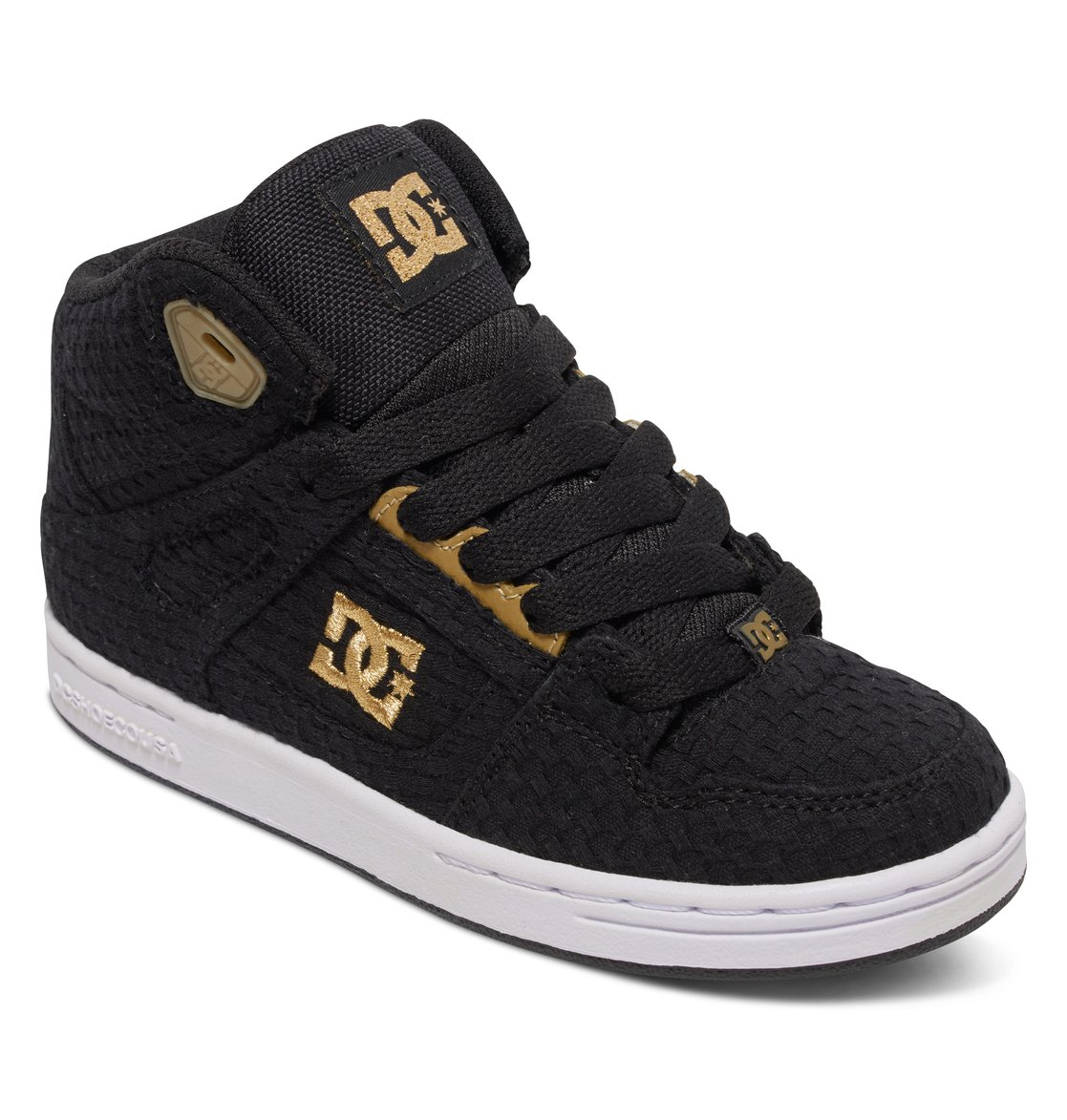 Dc Shoes Rebound Hi Se Black Gold