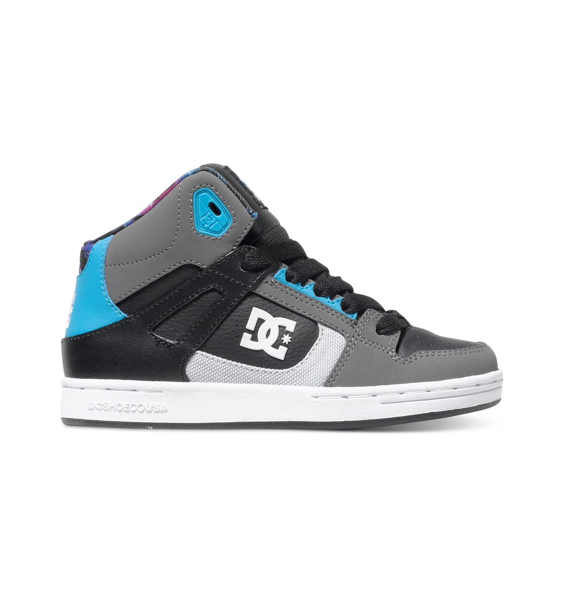 kid 39 s 4 7 rebound ken block high top shoes adbs100145 dc. Black Bedroom Furniture Sets. Home Design Ideas
