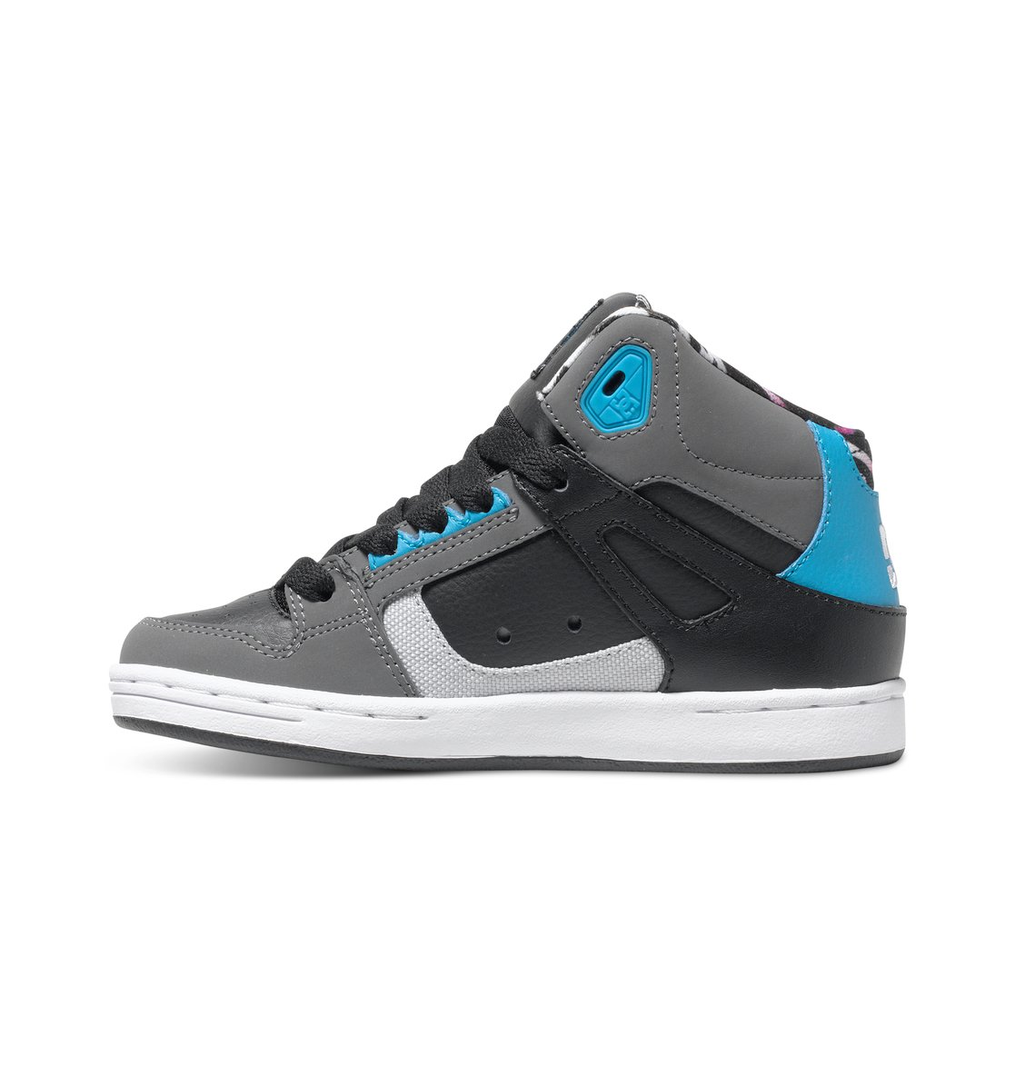 boy 39 s 8 16 rebound ken block high top shoes adbs100149 dc shoes. Black Bedroom Furniture Sets. Home Design Ideas