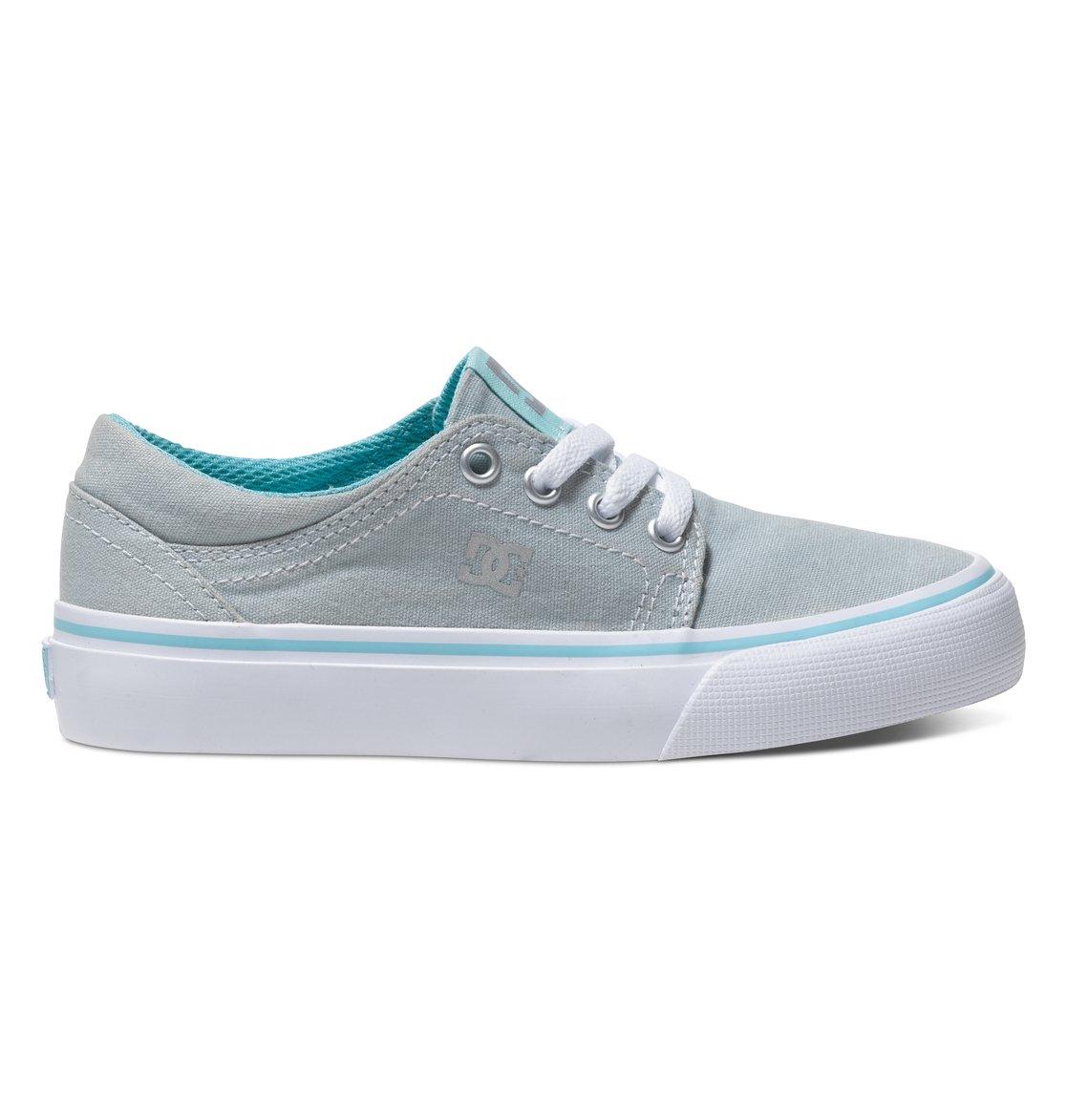 Trase TX - DcshoesНизкие кеды Trase TX от DC Shoes для мальчиков – новинка из коллекции «Лето 2015». Характеристики: принт с логотипом, металлические отверстия для шнурков, вулканизированная конструкция.<br>