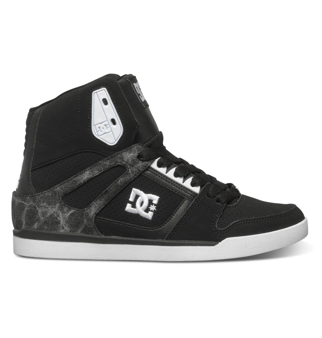 dc shoes high tops. 0 women\u0027s rebound slim se high-top shoes adjs100057 dc dc high tops l