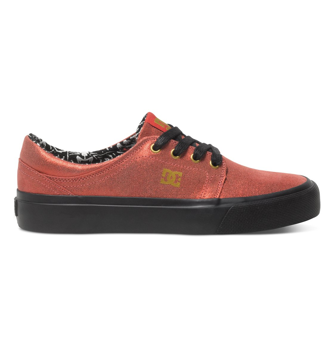 Trase X Tr Low Top Shoes Red Adjs Dc Shoes