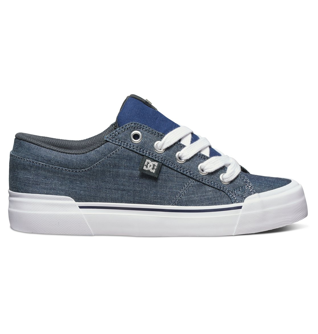 Cool Description  See The Future Of Skate Style With The DC Cleo Shoes These Shoes Come In A Slim Textile Upper With Metal Eyelets And Brand Detailing Vent Holes Lend Breathability While A Lightly Padded Footbed Offers Cushioned Comfort DCs