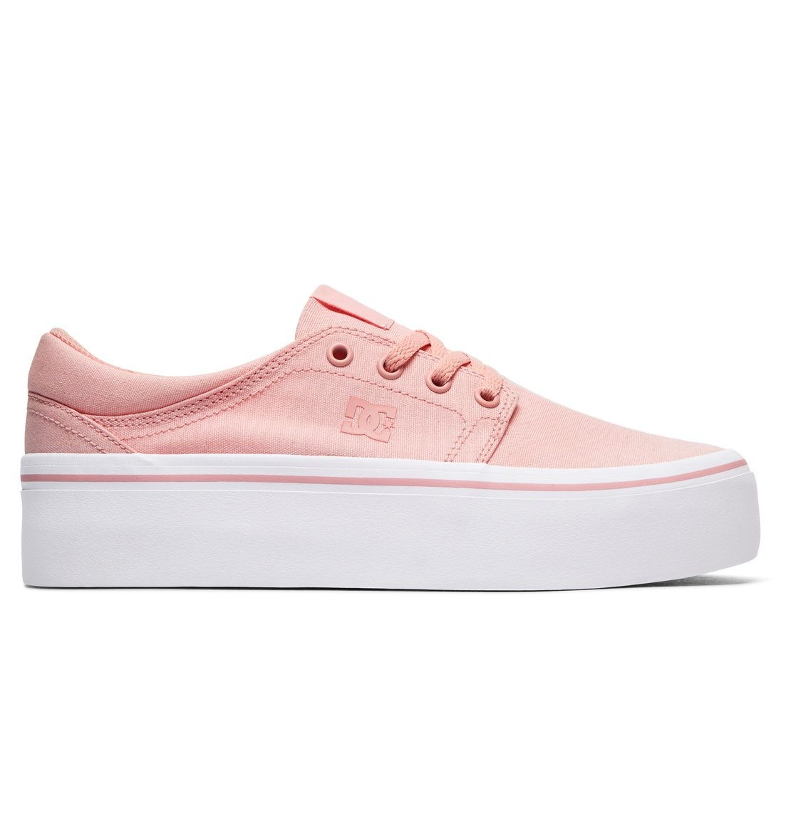 DC Shoes Schuhe »Trase Platform TX«, rosa, Rose