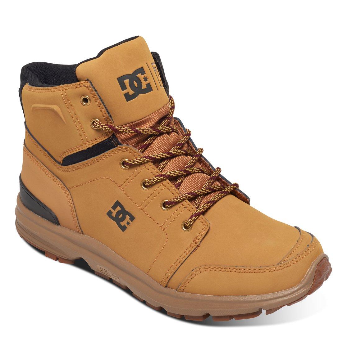 Ботинки Dc Spartan High Wr M Boot Fw17 Brown/brown/red 8