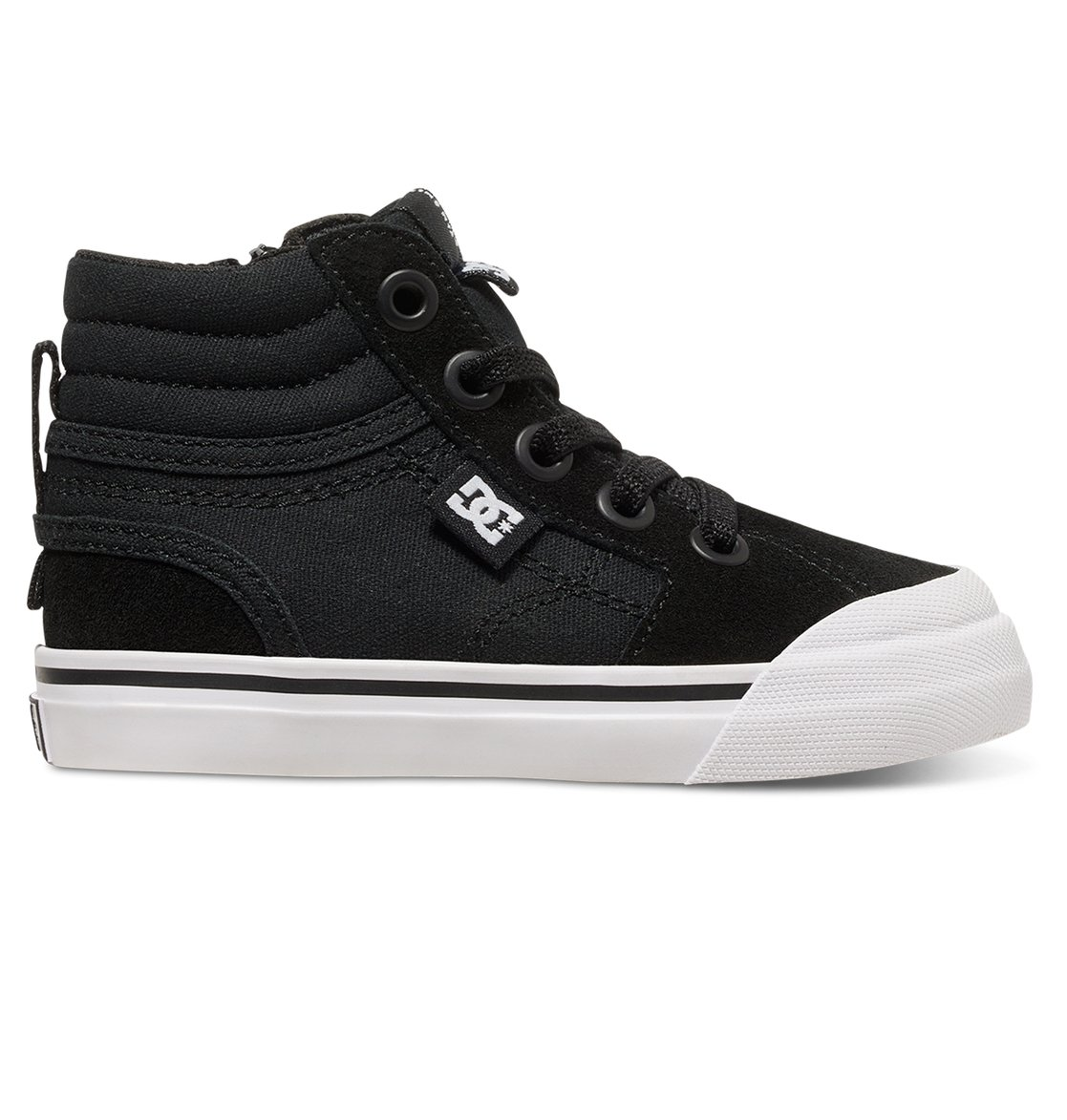 nike shoes black high tops. 0 toddler evan hi high top shoes black adts300023 dc nike tops u