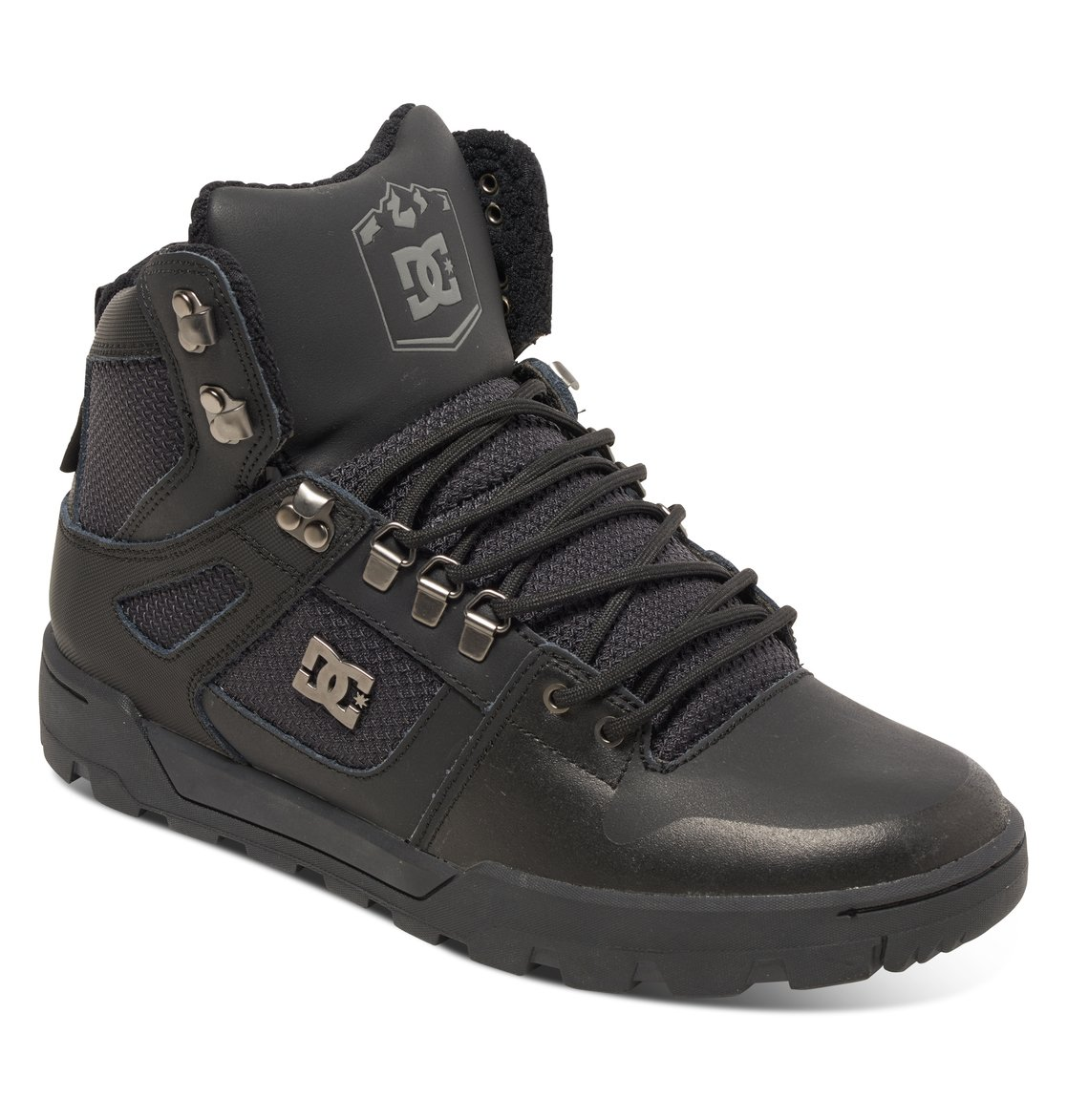 s spartan high boot mountain boots adyb100001 dc shoes
