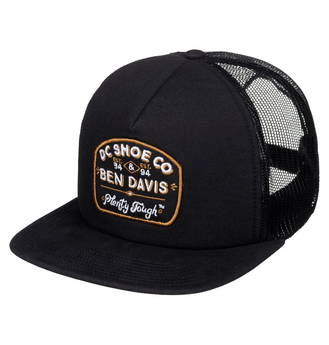 ben davis x dc tough trucker casquette trucker adyha03288 dc shoes. Black Bedroom Furniture Sets. Home Design Ideas