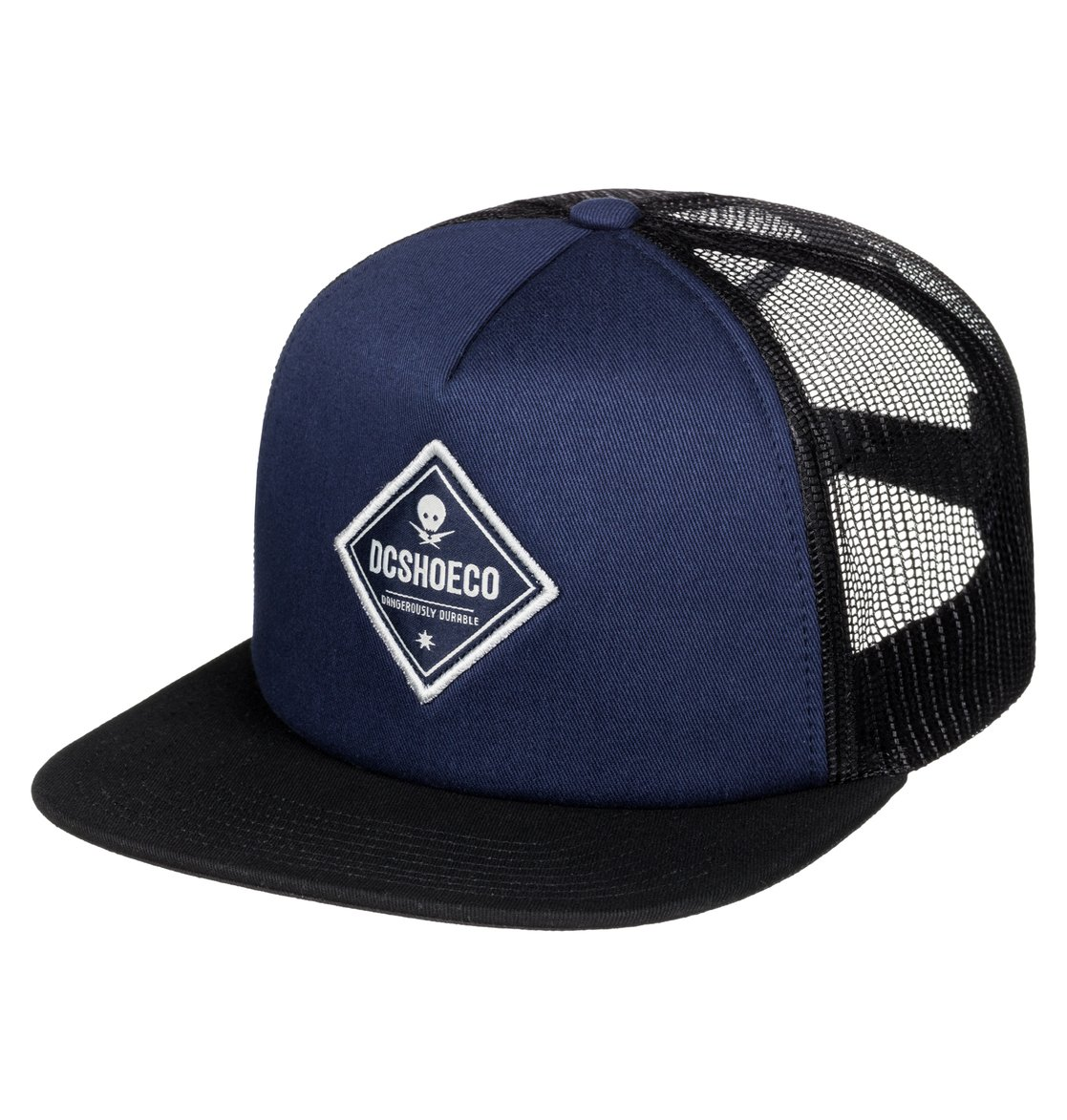 carlson casquette trucker adyha03343 dc shoes. Black Bedroom Furniture Sets. Home Design Ideas