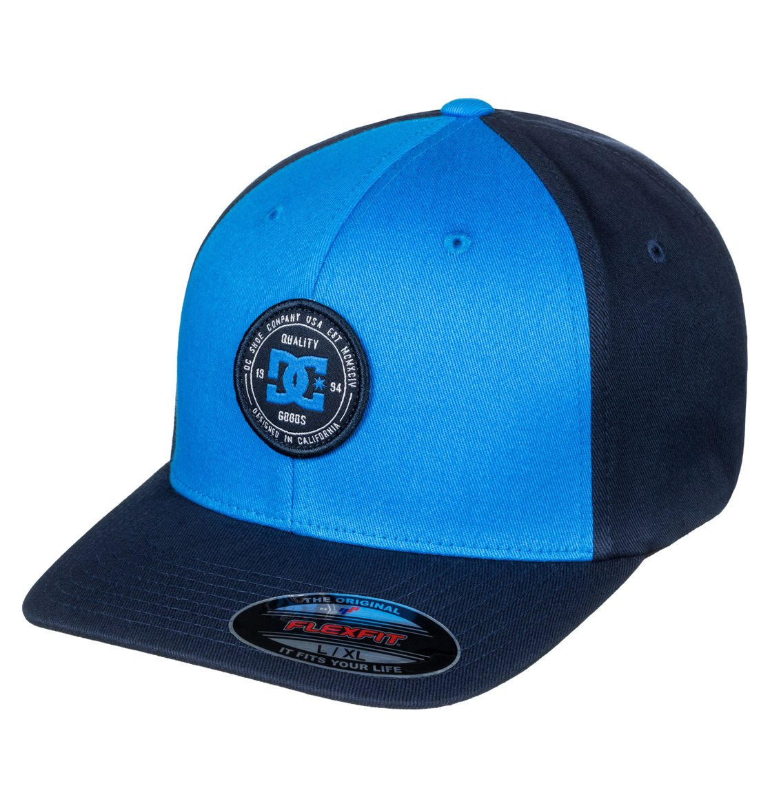 dc shoes Curve Breaker - Cappellino Flexfit da Uomo - Blue - DC Shoes
