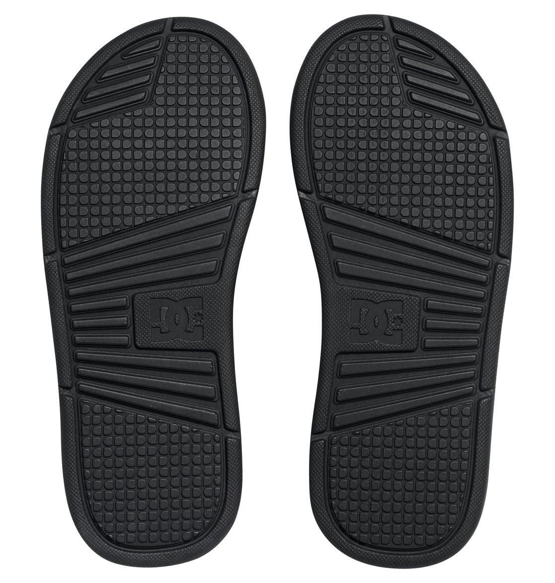 Black sandals jones - 4 Men S Bolsa Slider Sandals Adyl100026 Dc Shoes