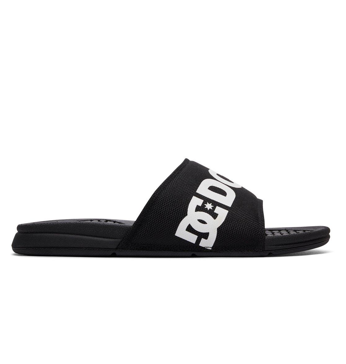 Dc Shoes Curseurs Bolsa En Noir - Noir / Blanc MsbmmJi