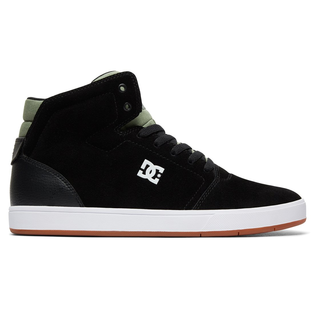 dc shoes Crisis - Scarpe alte da Uomo - Black - DC Shoes