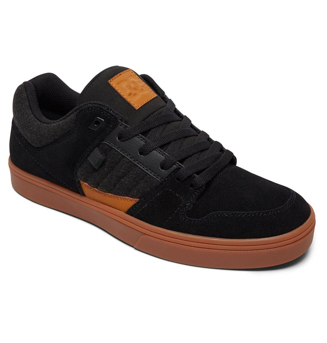 Black Black Grey Dc Shoes Pure Se