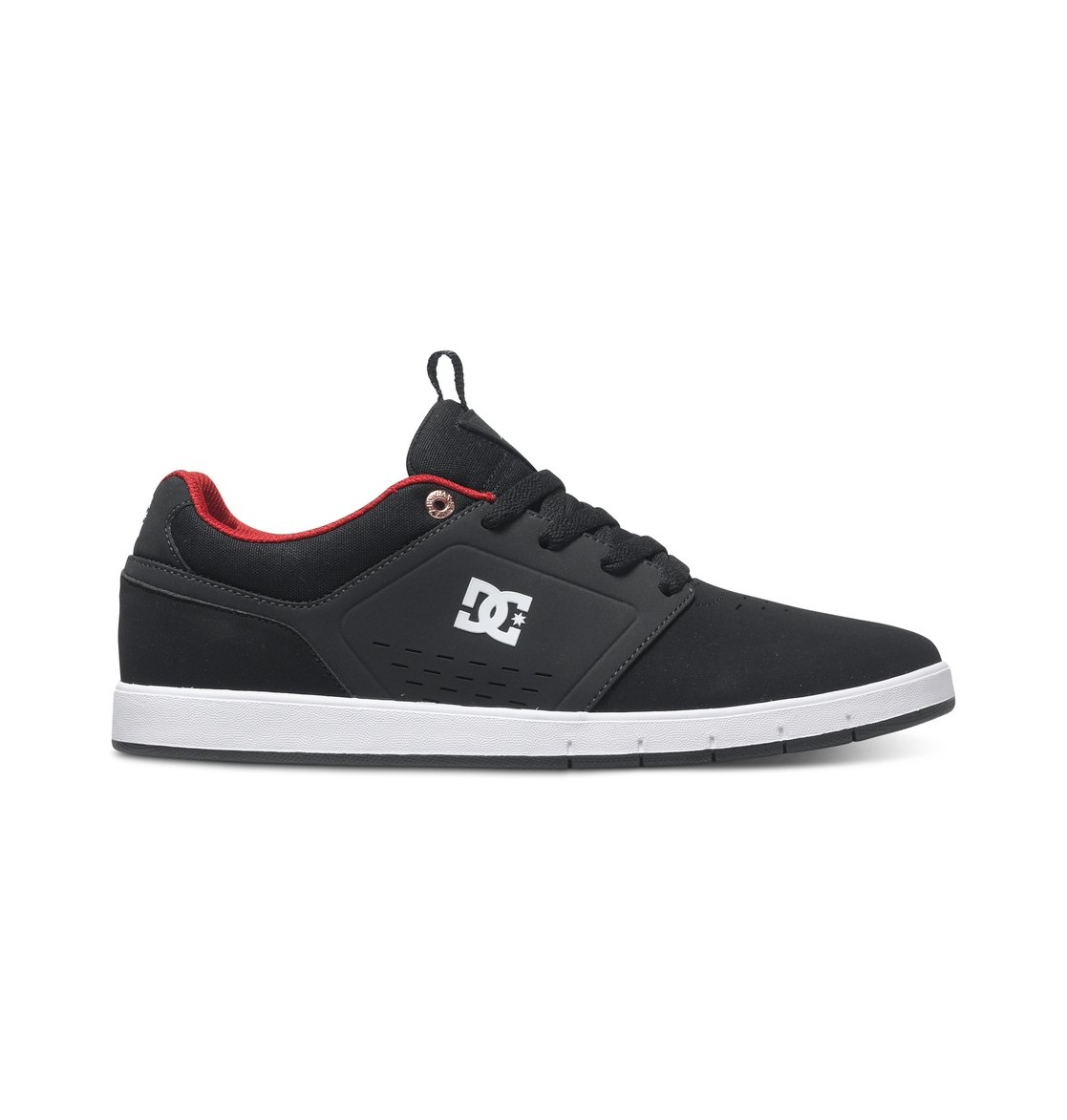 Mens Dc Cole Signature Sneakers Black/Charcoal TJC23531