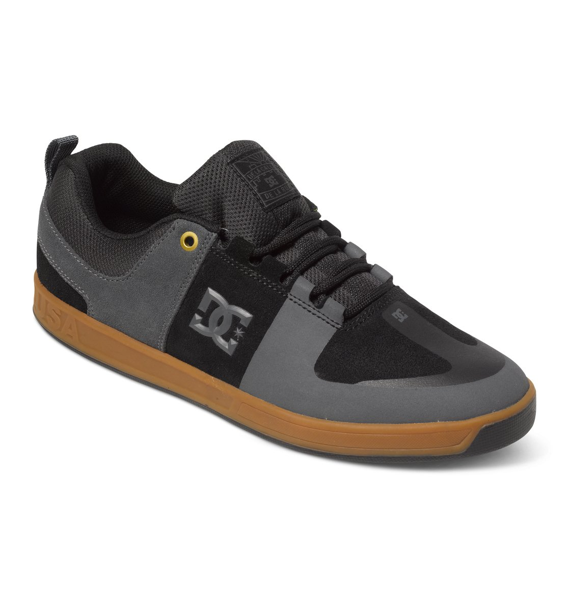 1 Men\u0027s Lynx Prestige S LA Low-Top Shoes Grey ADYS100298 DC Shoes