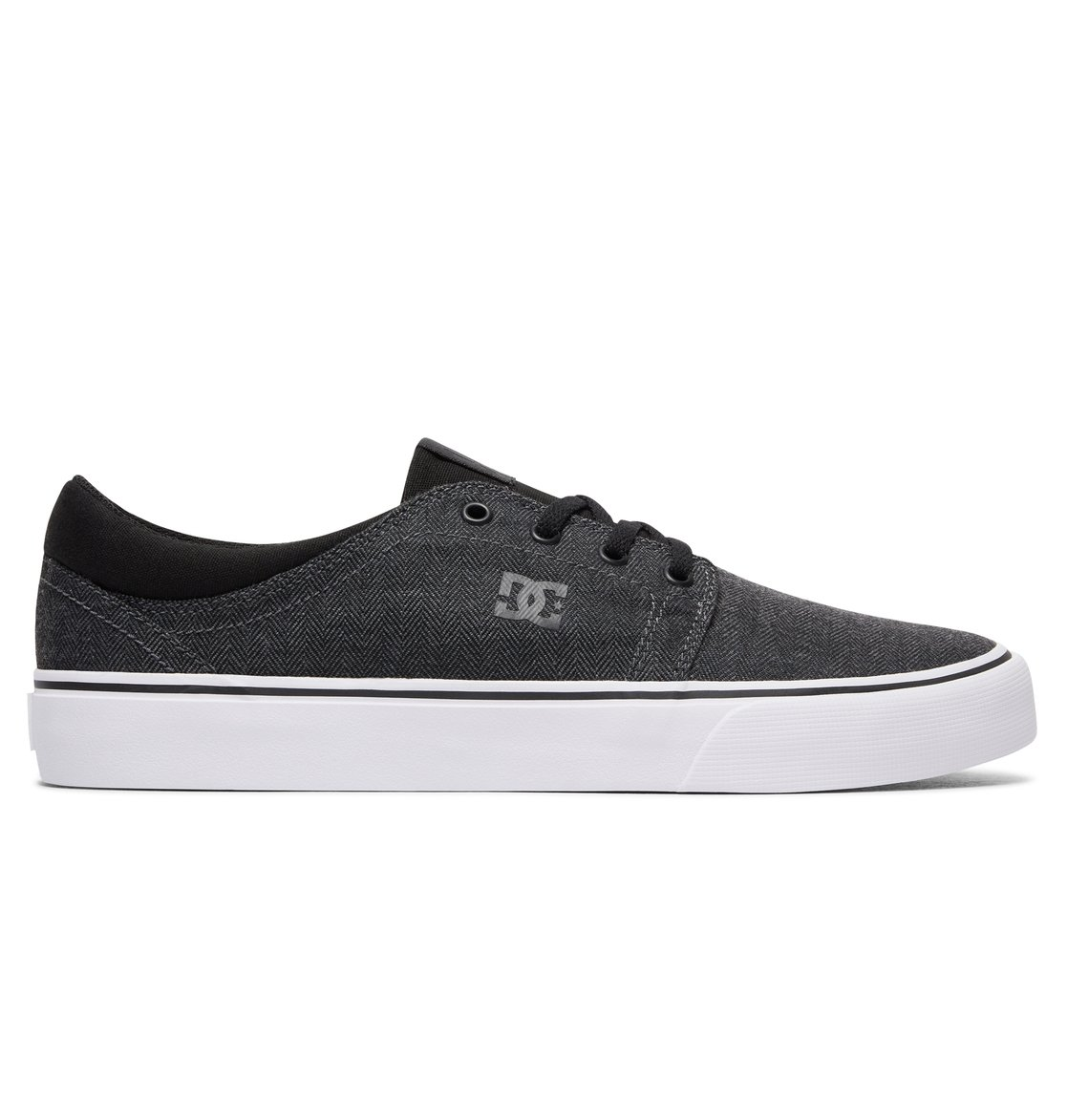 Shoes Womens Dc Shoes Trase Tx Se - Low Shoes - Women - Us 11 - Black Dark Denim/White Us 11 / Uk 9 / Eu 43