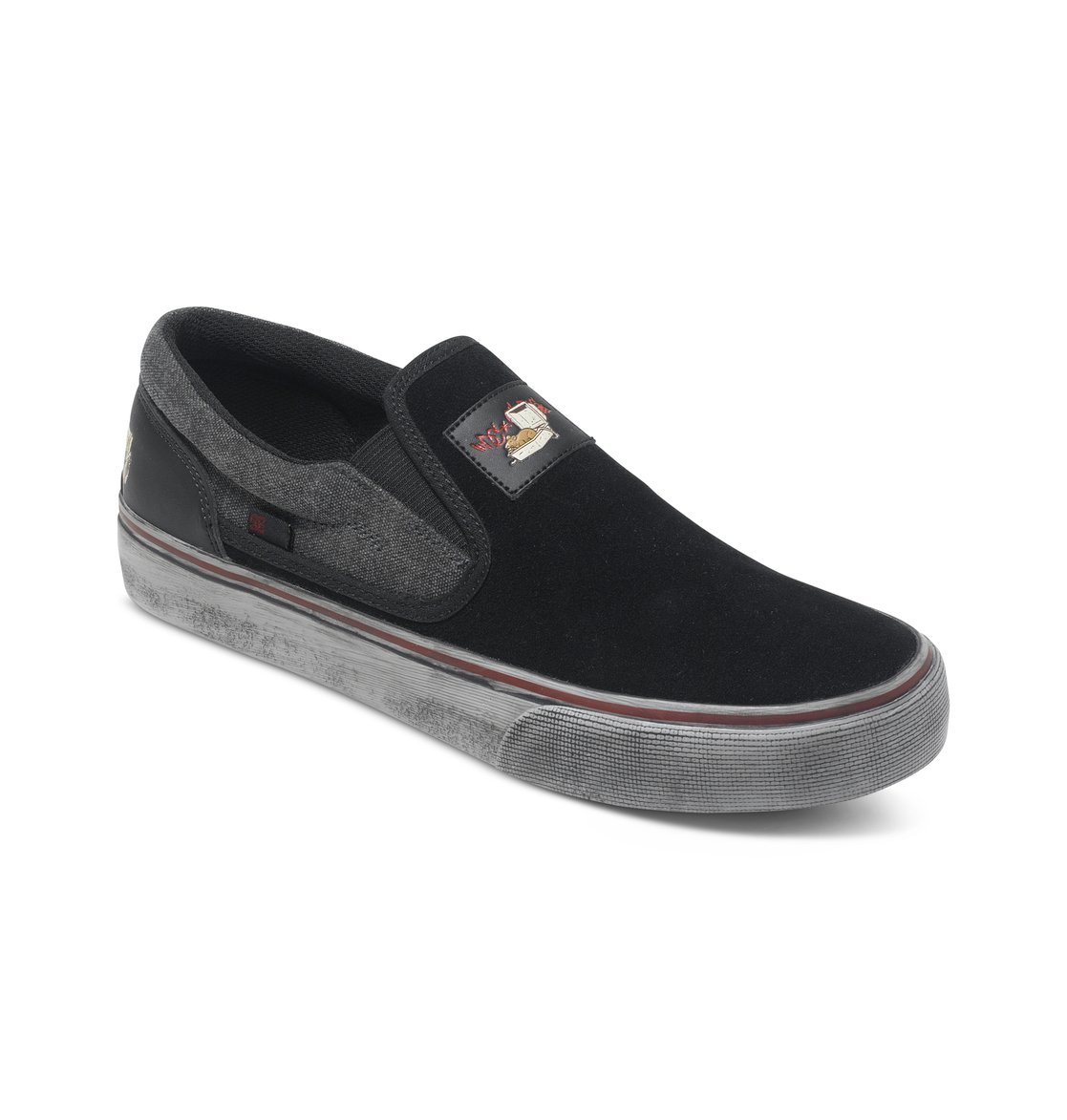 s trase s cliver slip on shoes adys300174 dc shoes