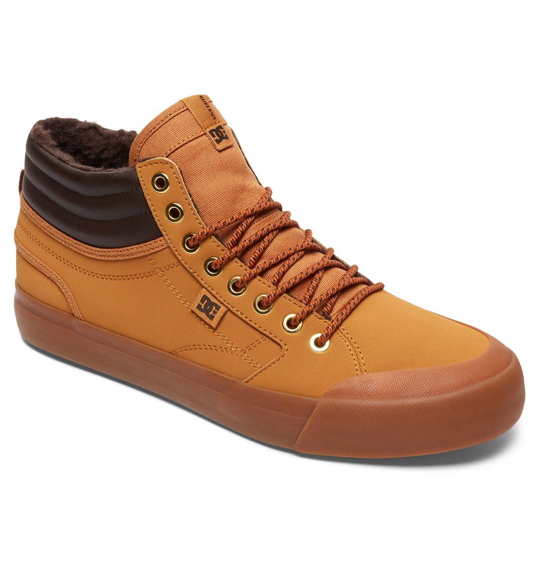 DC Shoes Evan Smith Hi WNT Zapatillas Hombre, Marrón (Wheat), 45 EU (10.5 UK)