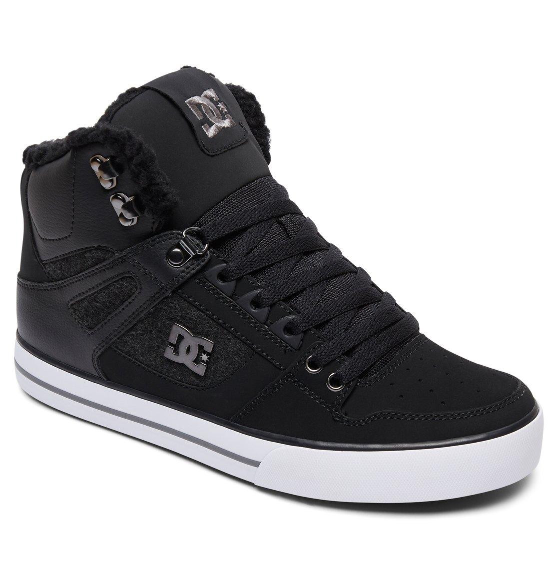 dc shoes Pure SE - Scarpe alte da Uomo - Black - DC Shoes