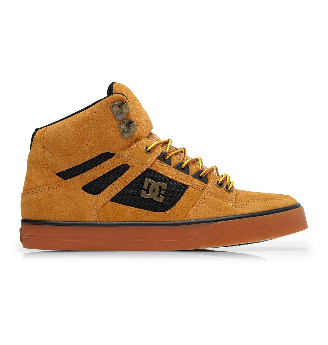 Mens Dc Shoes Spartan Hi Wc Wr Wheat