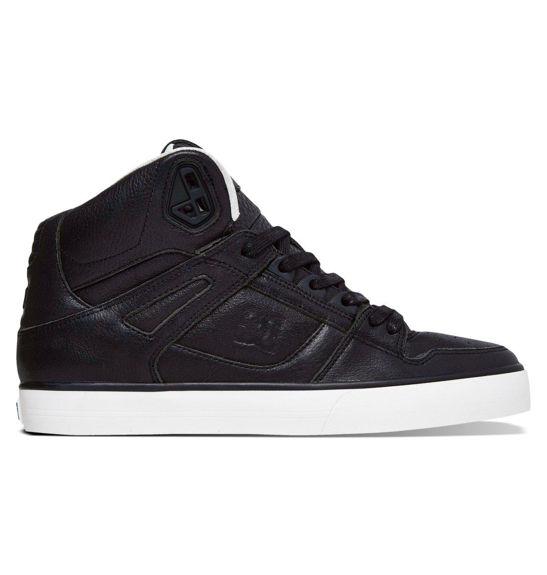 Dc Men S Spartan Hi Wc Skate Shoes Brown
