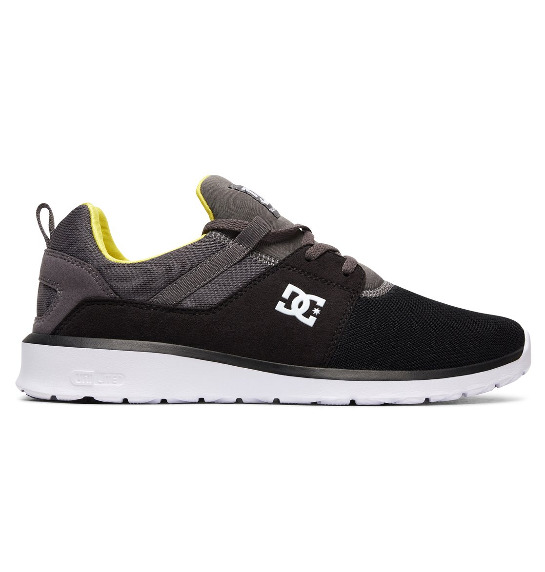 0 Mens Heathrow Shoes Black ADYS700071 DC Shoes