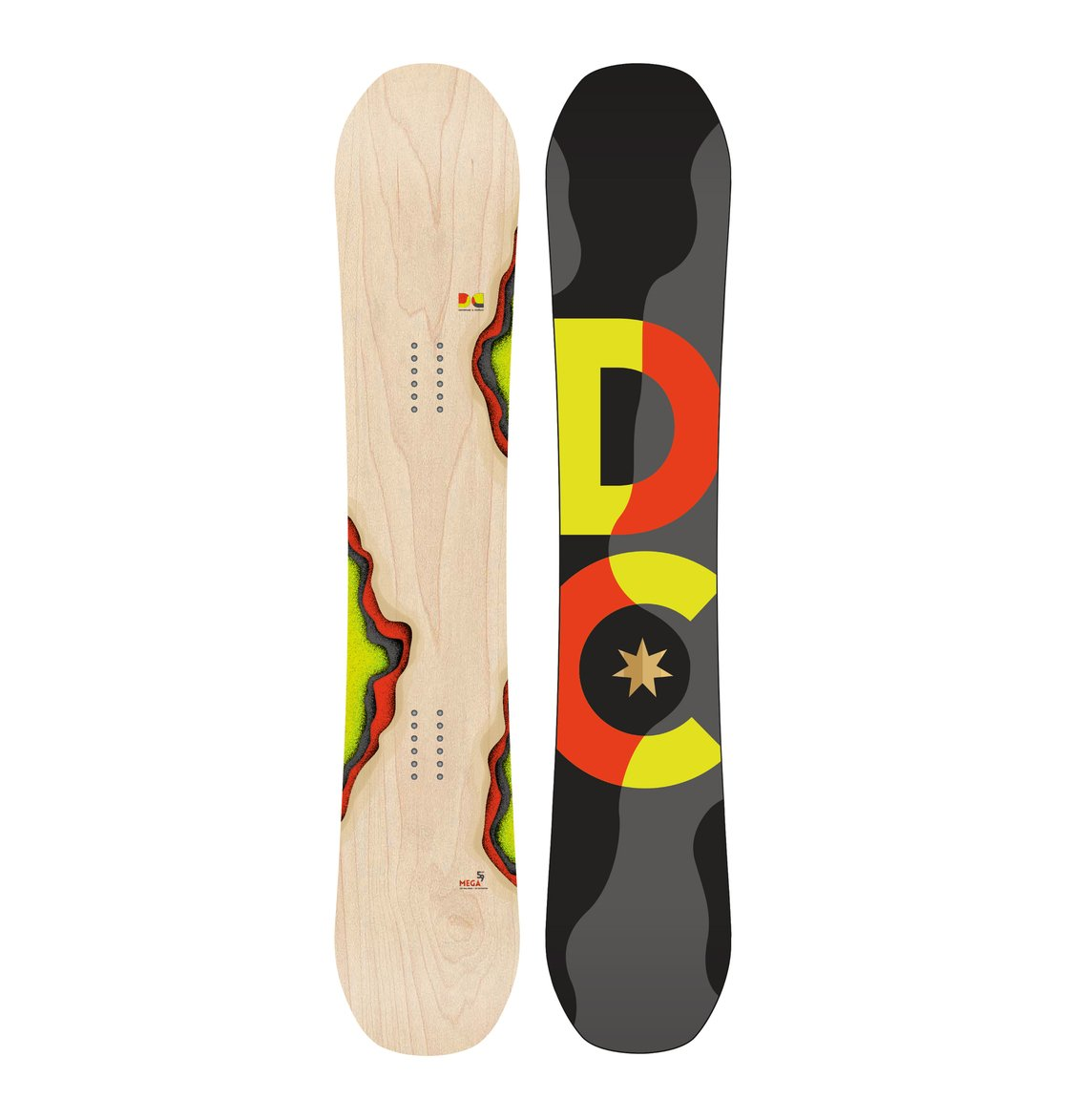 Сноуборд MegaThis skate-inspired series boasts Lock and Load camber and a FreshDeck Top sheet; a combo that delivers maximum pop and smooth, consistent press-ability.<br>