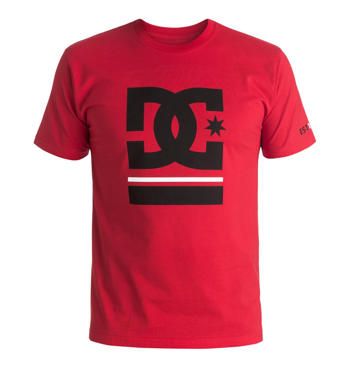 Men 39 s dc bar star tee adyzt03902 dc shoes for Dc t shirts online