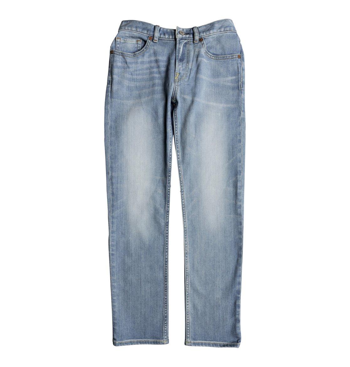 Прямые джинсы Worker Light Indigo Blue